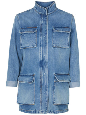 LONG DENIM JACKET MM/VM