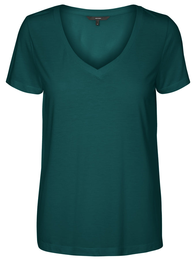 Spicy V-Neck T-Shirt PONDEROSA PINE