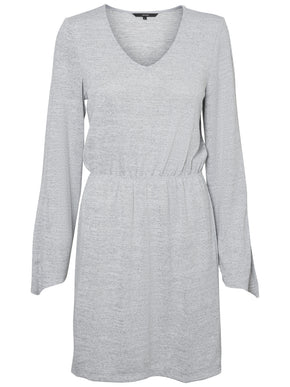 WIDE SLEEVE JERSEY DRESS