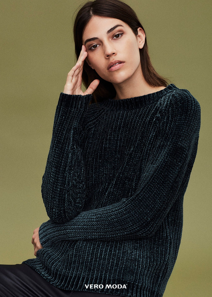 COZY TEXTURED SWEATER HARVEST GOLD