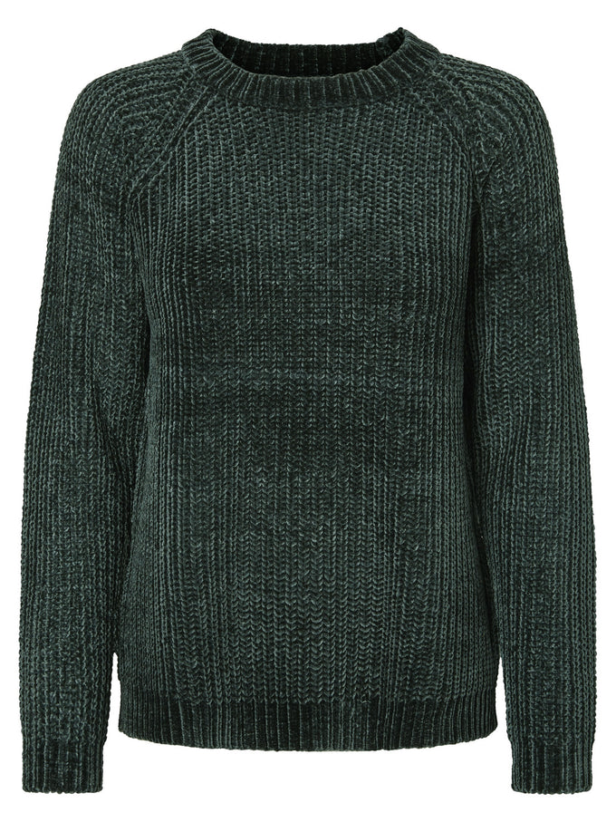COZY TEXTURED SWEATER GREEN GABLES