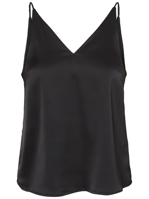 RECYCLED-POLYESTER SILKY CAMI