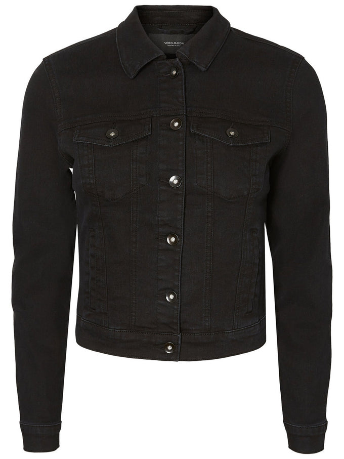 VESTE EN DENIM HOT SOYA NOIR
