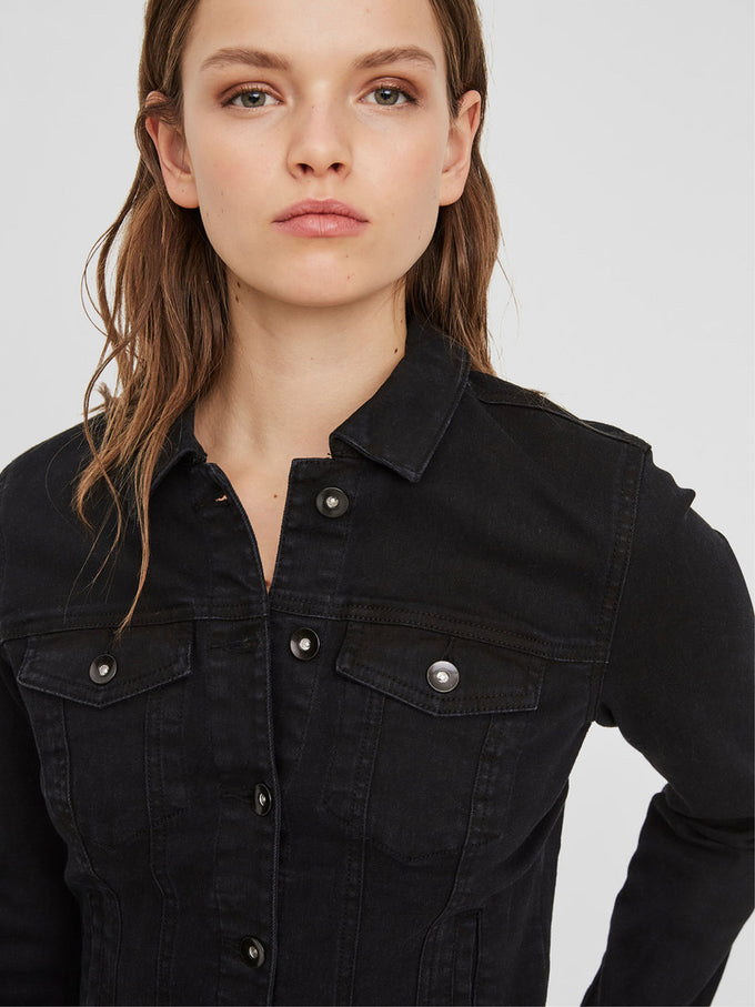 HOT SOYA DENIM JACKET Black
