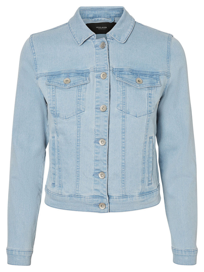 VESTE EN DENIM HOT SOYA BLEU DENIM