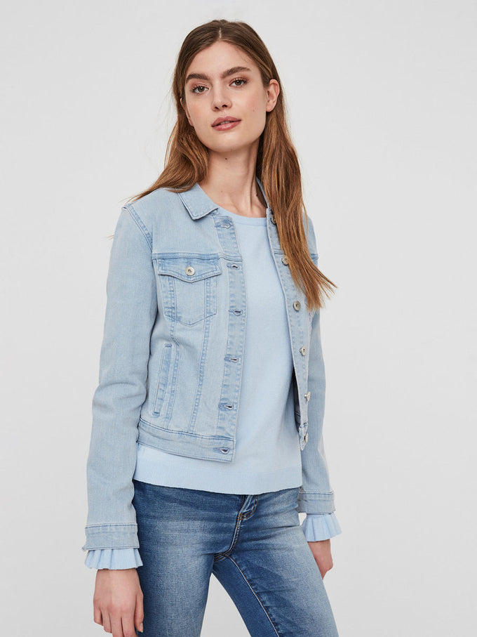 CLASSIC DENIM JACKET LIGHT BLUE DENIM