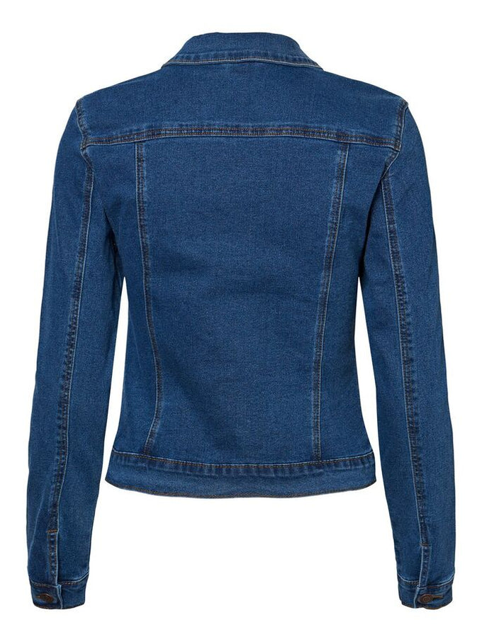 VESTE EN DENIM HOT SOYA DENIM BLEU MOYEN