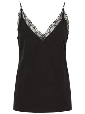 LYOCELL CAMI WITH LACE DETAIL