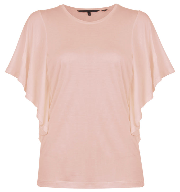 DOLMAN SLEEVE T-SHIRT CAMEO ROSE
