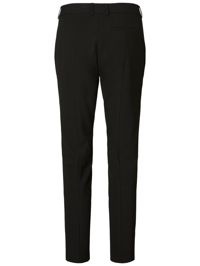 DRESS PANTS WITH CONTRAST STRIPE MM/VM FADED ROSE