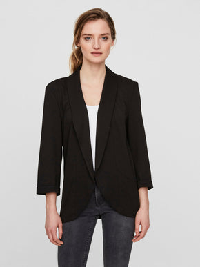 UNLINED JERSEY BLAZER