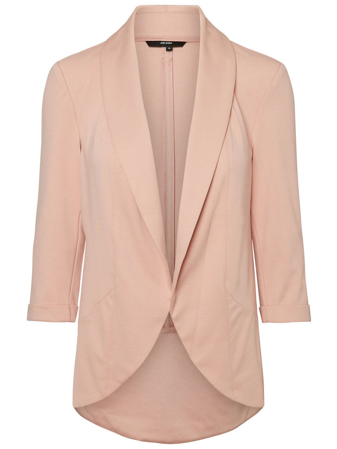 Katey 3/4 Sleeve Blazer MISTY ROSE