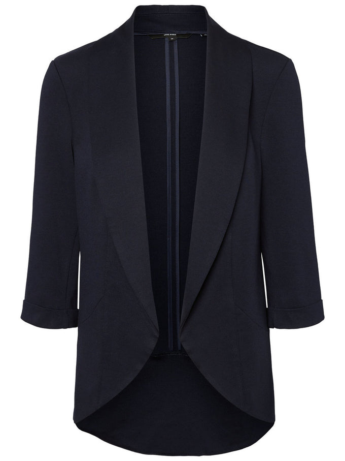 Katey 3/4 Sleeve Blazer NIGHT SKY