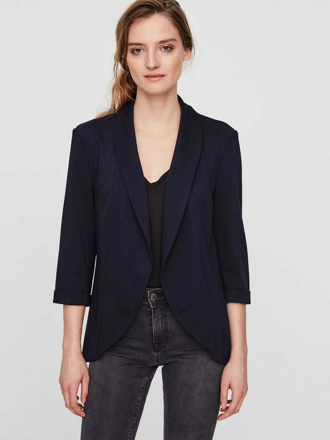 UNLINED JERSEY BLAZER NIGHT SKY