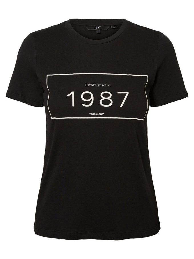ANNIVERSARY 1987 T-SHIRT BLACK
