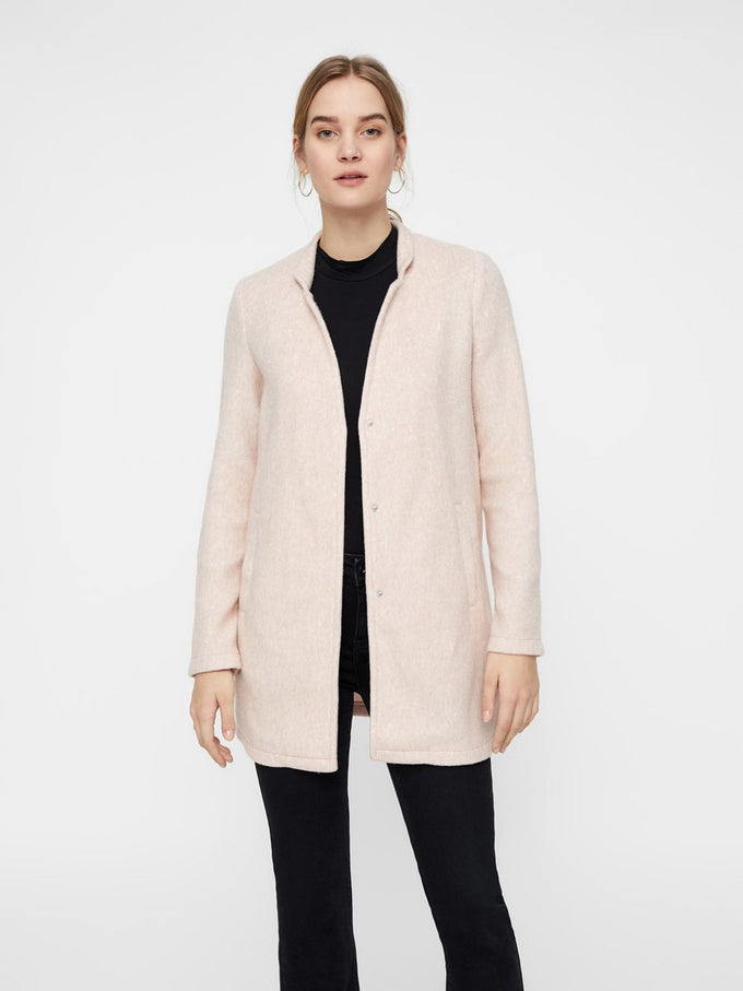 BRUSHED UNLINED JACKET CAFÉ AU LAIT