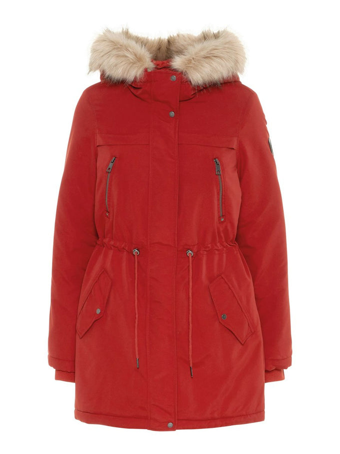LONG WINTER PARKA KETCHUP