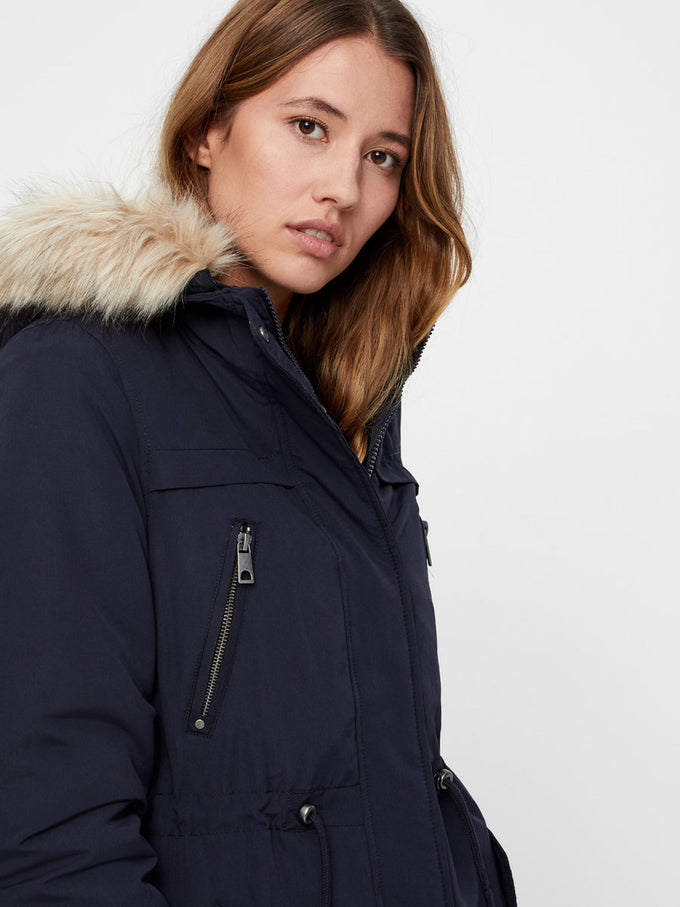 LONG WINTER PARKA NIGHT SKY