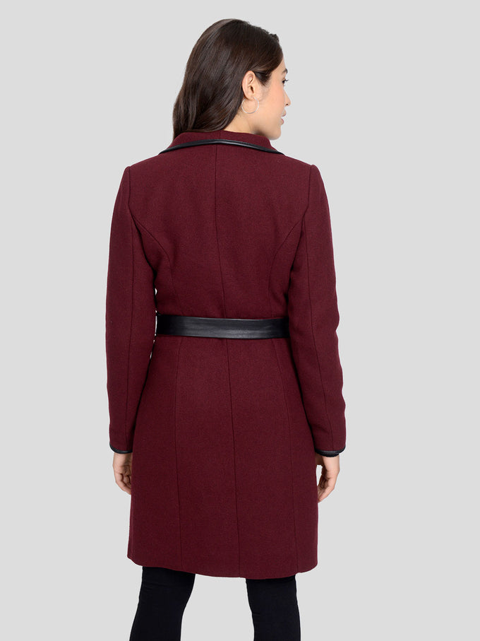 Waterfall Wool Coat PORT ROYALE
