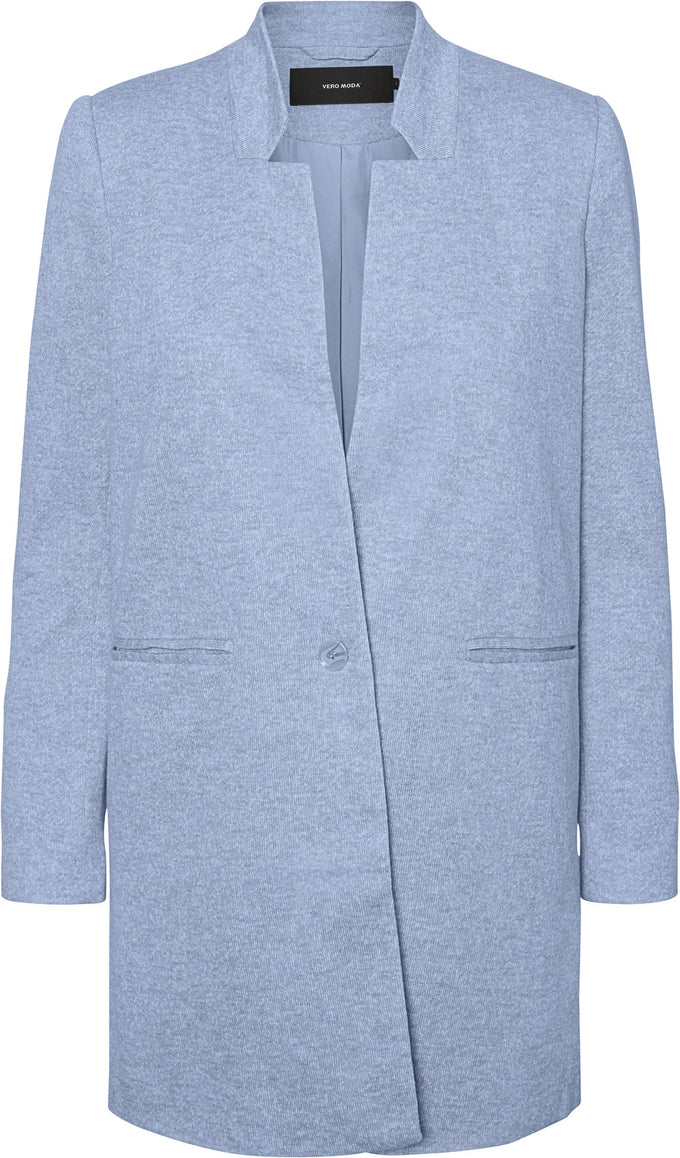 LIGHT JACKET CASHMERE BLUE