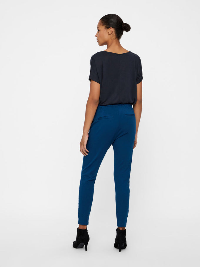 CASUAL JERSEY PANTS GIBRALTAR SEA