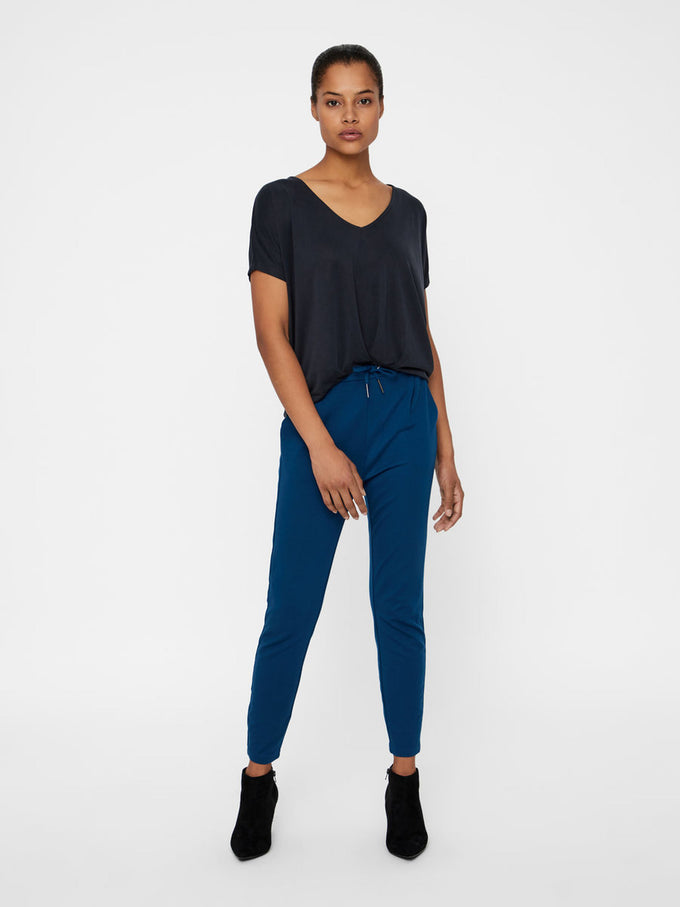CASUAL JERSEY PANTS GILBRATAR SEA