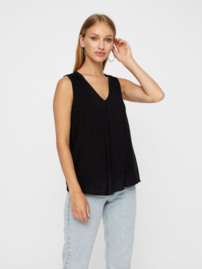 ESSENTIAL BLOUSE BLACK