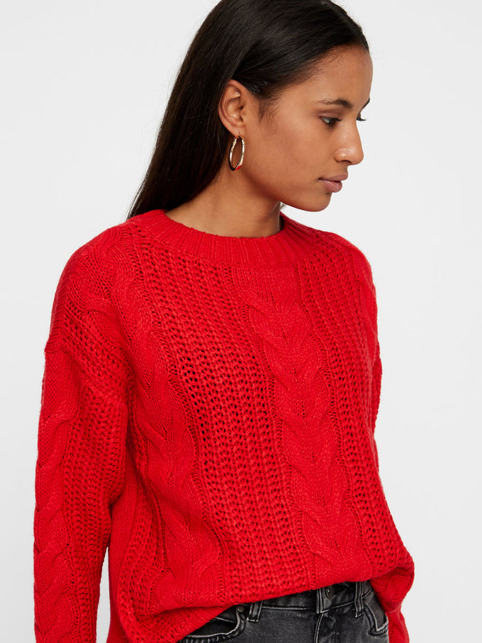CLASSIC SWEATER CHINESE RED