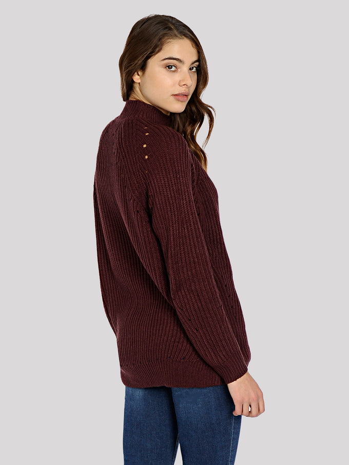 3/4 COMFY SWEATER WINETASTING