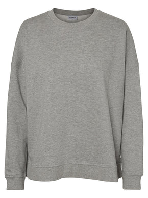 ORGANIC-COTTON OVERSIZED SWEATSHIRT