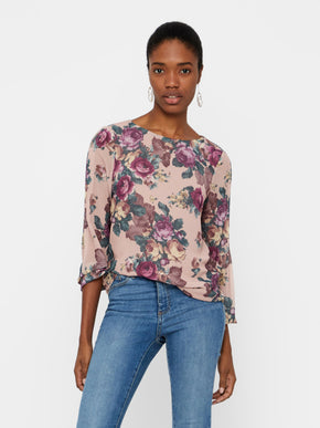 ROMANTIC FLORAL BLOUSE
