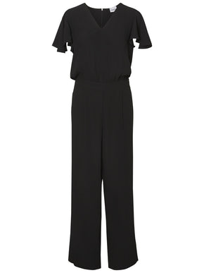 Aware Jumpsuit With Ruffle Sleeves