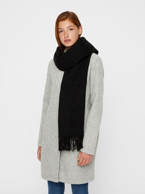 LARGE SOLID SCARF