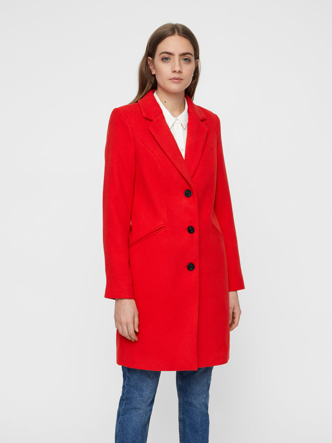 RED CITY JACKET FIERY RED