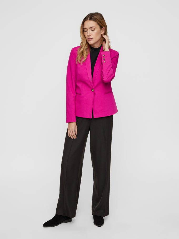 COLOURFUL BLAZER FESTIVAL FUCHSIA