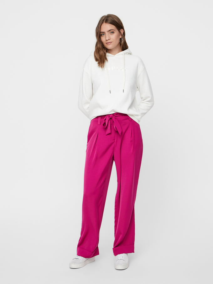 COLOURFUL WIDE LEG PANTS FESTIVAL FUCHSIA