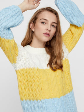 COLOURBLOCK SWEATER