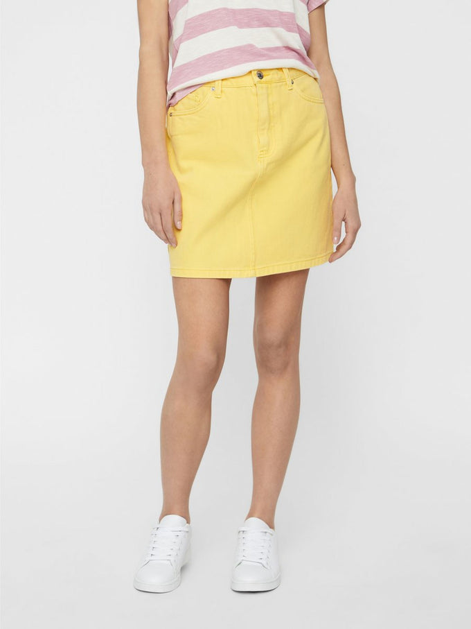COLOURFUL DENIM SKIRT YARROW