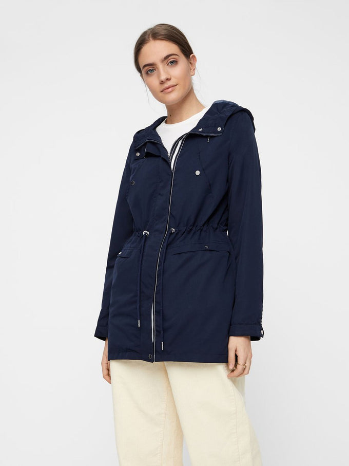 COLOURFUL CANVAS PARKA NIGHT SKY