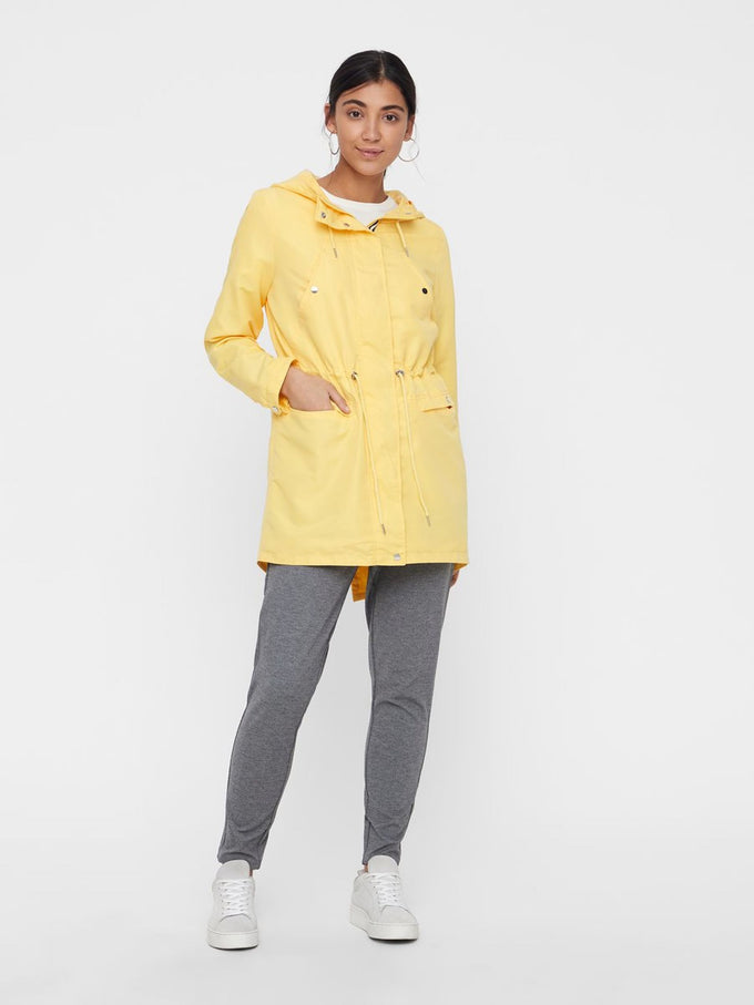 COLOURFUL CANVAS PARKA YARROW
