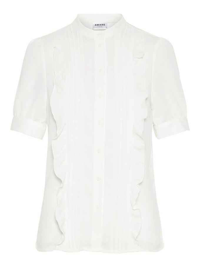 RECYCLED-POLYESTER FEMININE TOP PRISTINE