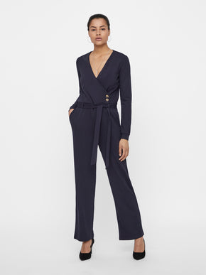 CHIC NAVY JUMPSUIT