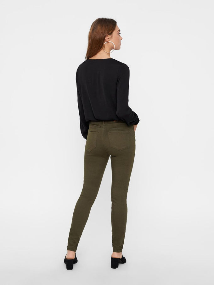 VMSEVEN SLIM FIT PANTS IVY GREEN