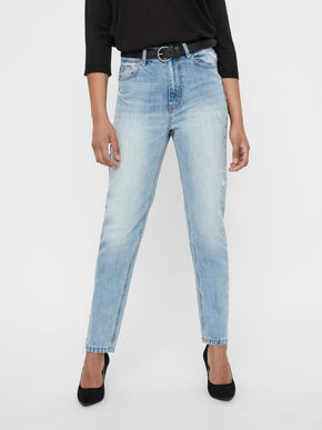 JEANS JOANA COUPE MOM À TAILLE HAUTE