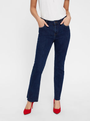 VMSHEILA FLARE ANKLE JEANS