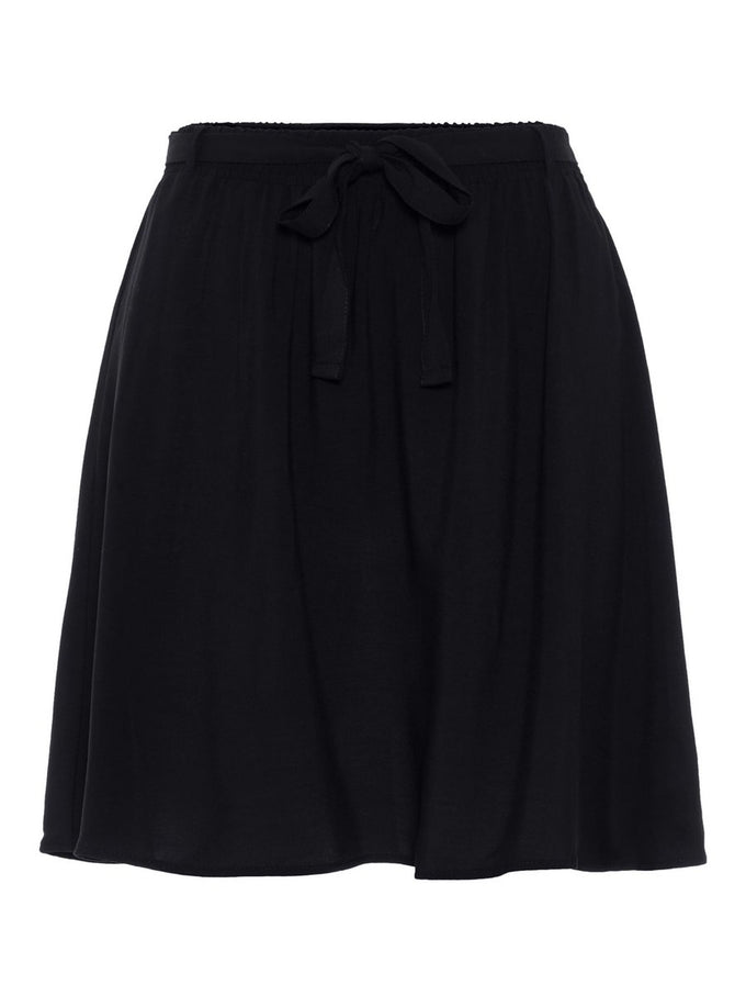 BLACK FLUID SKIRT BLACK