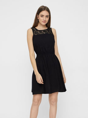Boca sleveless dress with lace