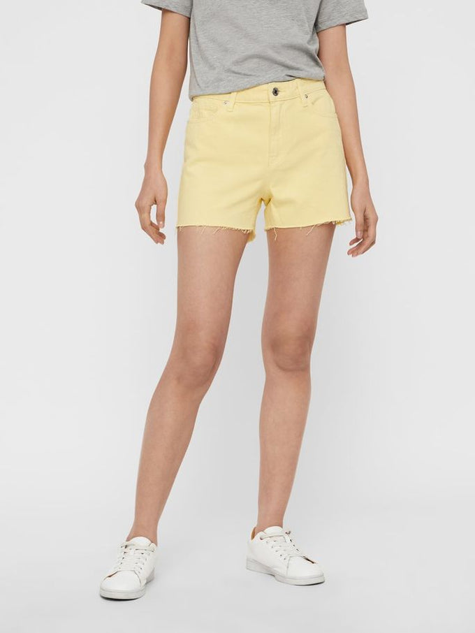 RAW FINISH SHORTS MELLOW YELLOW