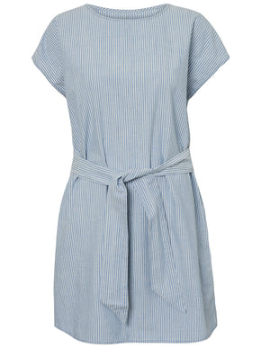 ORGANIC-COTTON STRIPED DRESS