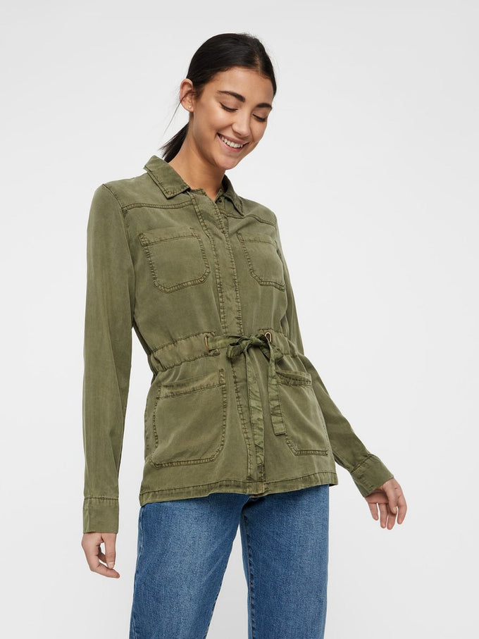Cary Military jacket IVY GREEN